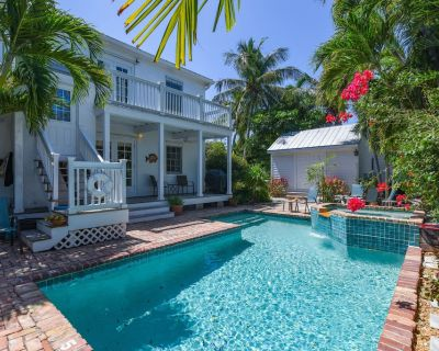 Secluded Casa - Spacious Apartment, Overlooks Pool & Garden. - Key West Historic District