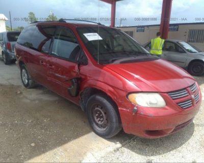 Salvage Red 2005 Dodge Grand Caravan
