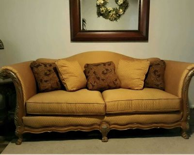 Couch x loveseat x inn tables