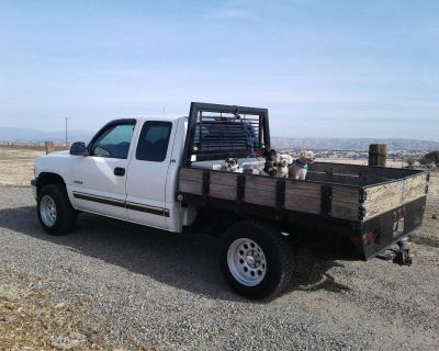 2000 chevy flatbed truck 4x4 trade preferred