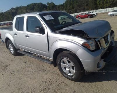 Salvage Silver 2012 Nissan Frontier