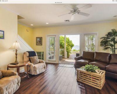 NEW LISTING! Waterfront townhouse w/ pool, fenced backyard & deck - dogs ok - Key West
