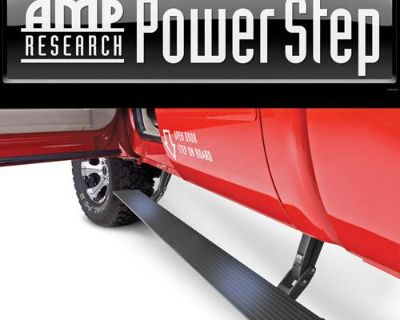99-03 Ford F-150 Supercrew Amp Research Power Retracting Side Step Running Board