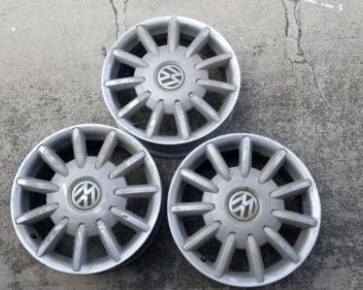 """New beetle 16"""" rims 3 only"""