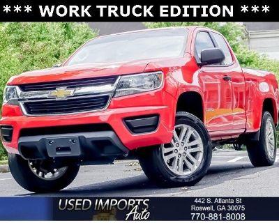 "2019 Chevrolet Colorado 2WD Ext Cab 128.3"" Work Truck"