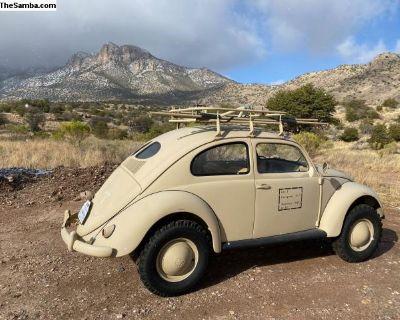1957 VW Split Window Bug Ground Up Build 82E