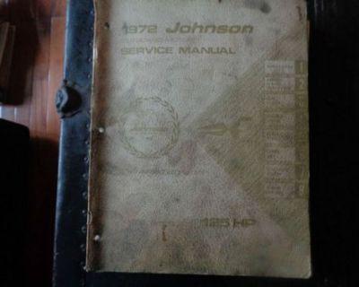 1972 Johnson Service Manual 125 Hp Motors @@@check This Out@@@