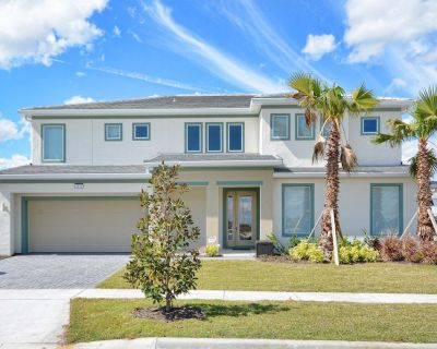 Beautiful Large Family Home! 2 Living Areas,ping Pong Table, Gated Resort Community, BBQ Grill, Free Wifi!! - Kissimmee
