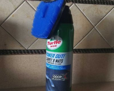Turtle Wax Power Out Carpet & Mats Cleaner and OdorEliminator