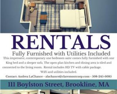 NO LEASE REQUIRED! ALL UTILITIES INCLUDED!