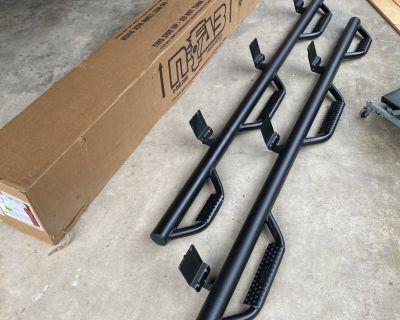 FS/FT N-Fab tube side steps Dodge Ram
