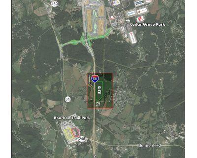 42.439 Acres of Light Industrial South of Shepherdsville
