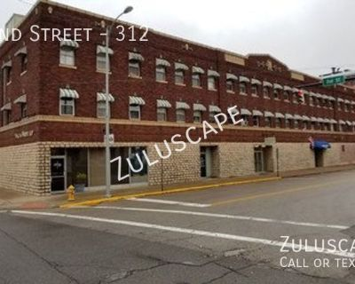 99 First Month Rent Special....Totally Renovated Mini-Apartment in Heart of Downtown Evansville!! You have to see this!!