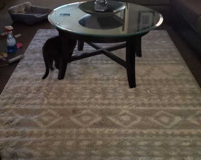 Gorgeous expresso coffee table/end table set