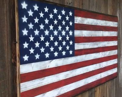 FS American Flag wall hangers