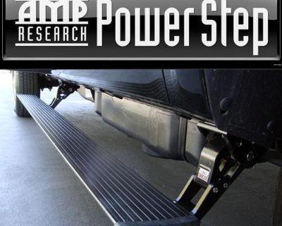 11-13 Gmc Sierra 2500 3500 Hd E/c Diesel Amp Power Side Steps Running Boards