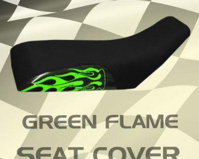 Yamaha Ytm225 83-87 Green Flame Seat Cover #kok16165 Ikl8175