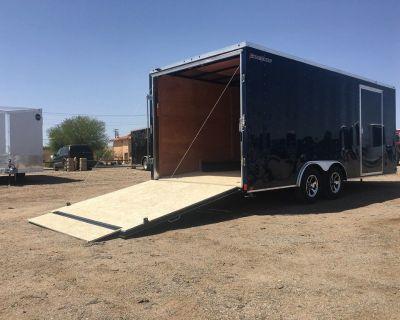 8.5 x 20ft Enclosed Car Hauler, Wells Cargo Enclosed Trailer FT85204