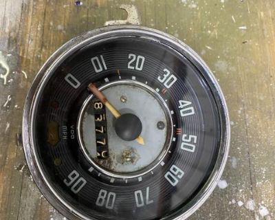 Karmann Ghia Speedometer