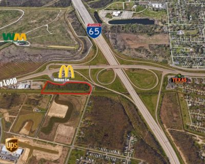 Rare Commercial-Industrial Land by Onramp to I-65 South