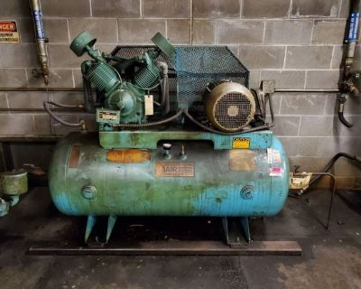 Commerical Air Compressors, Street Lights, Boiler, Shop Heaters, and More!! KCMO