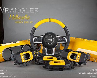 JL Hellayella Interior Trim & Steering Wheel