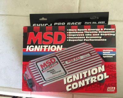 New Msd Hvc -l Ignition Box Part# 6631