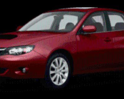 2010 Subaru Impreza 2.5GT Sedan Auto