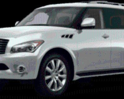 2011 INFINITI QX56 8-passenger