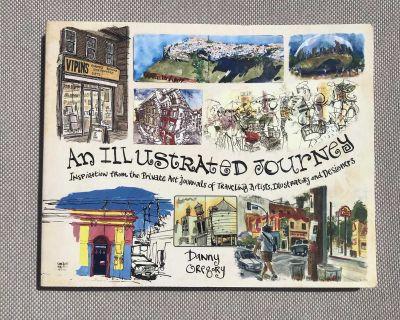 Travel illustration book