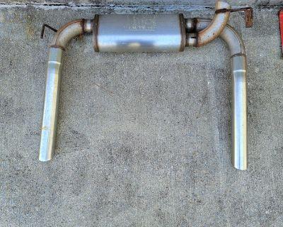 Magnaflow Exhaust w/ Tips and Hangers