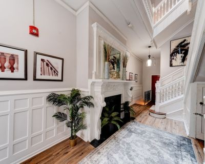Historic Building Rittenhouse Retreat With Garden Patio - Fitler Square