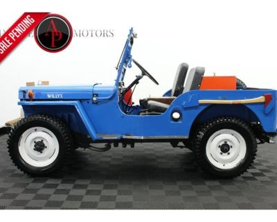 1946 Jeep CJ
