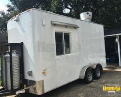 2020 Cargo Craft 7' x 16' Kitchen Food Trailer with Pro-Fire