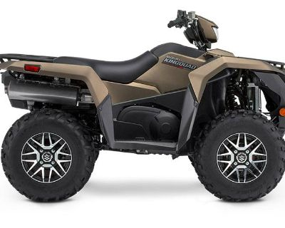 2019 Suzuki KingQuad 500AXi Power Steering SE+ ATV Utility Norfolk, VA