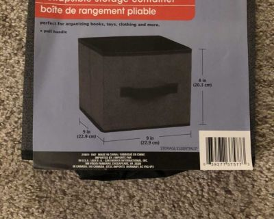 1 NEW* Collapsible Storage Container
