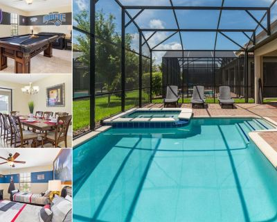 Champions Escape   Themed Kids Bedrooms, Games Room with Pool Table & Screened Pool - Champions Gate