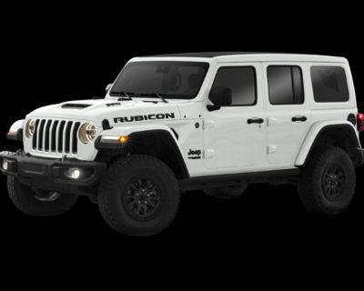 New 2021 Jeep Wrangler Unlimited Rubicon 392 4WD Convertible