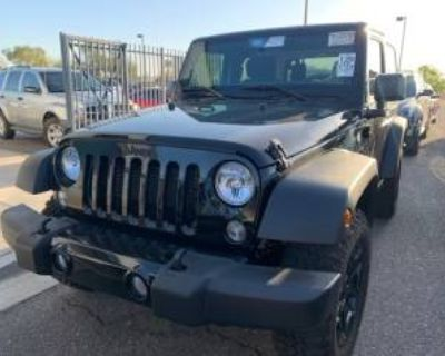 2018 Jeep Wrangler Willys Wheeler (JK)