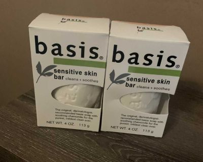 Basis soap new both for 2.00