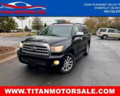 2008 Toyota Sequoia Limited 5.7L 4WD