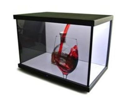 Transparent LCD Showcase - Transparent LCD Displays with Optimal Touch