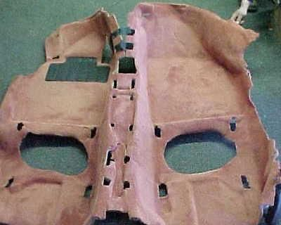 Porsche 986 Boxster Floor Carpet Mat Boxster Red Oem