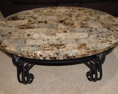 Coffee Table & (2) End Tables