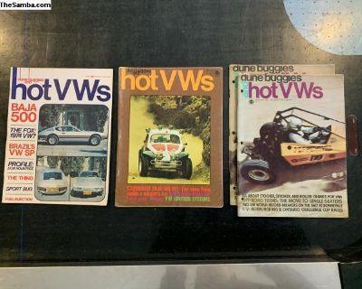 1970s Dune buggies and Hot VWs Magazines