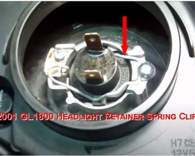 2001 GL1800 Headlight Retainer Spring Clip Needed