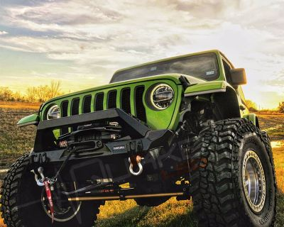 Check Out! Quake LED's Jeep JT Gladiator/JL Wrangler DRL, Amber Sequential Turn Signal Fender Chop