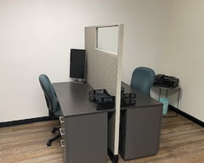 Dedicated Desk - 3 Available at Total Package