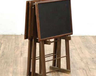 LOVESEAT.COM Vintage Furniture & Decor Auction - Top Grain Leather Sofas, French Door Refrigerators