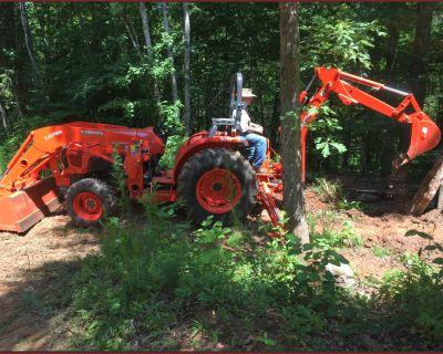 Tractor/Backhoe Work